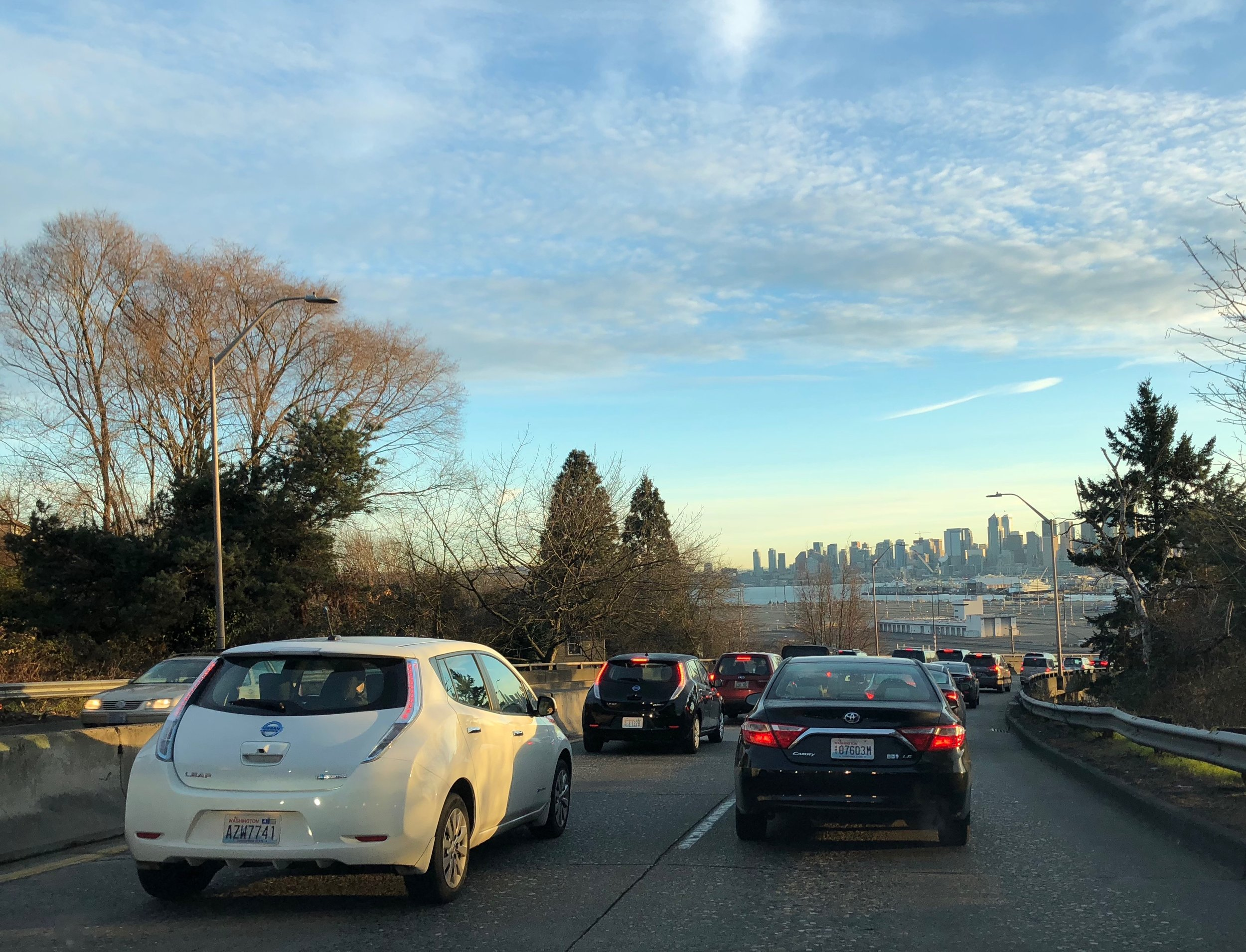Rush-hour-traffic-Seattle