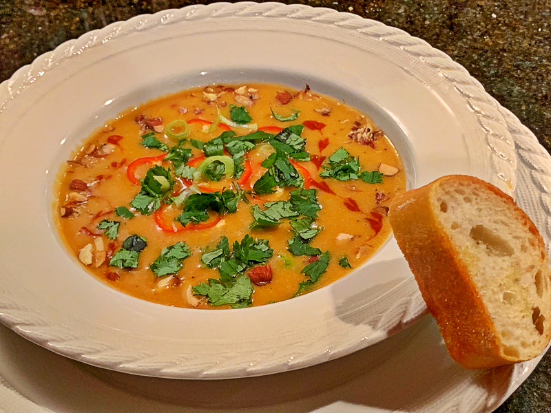 This soup will tantalize your taste buds with a little spiciness, sweetness, saltiness…