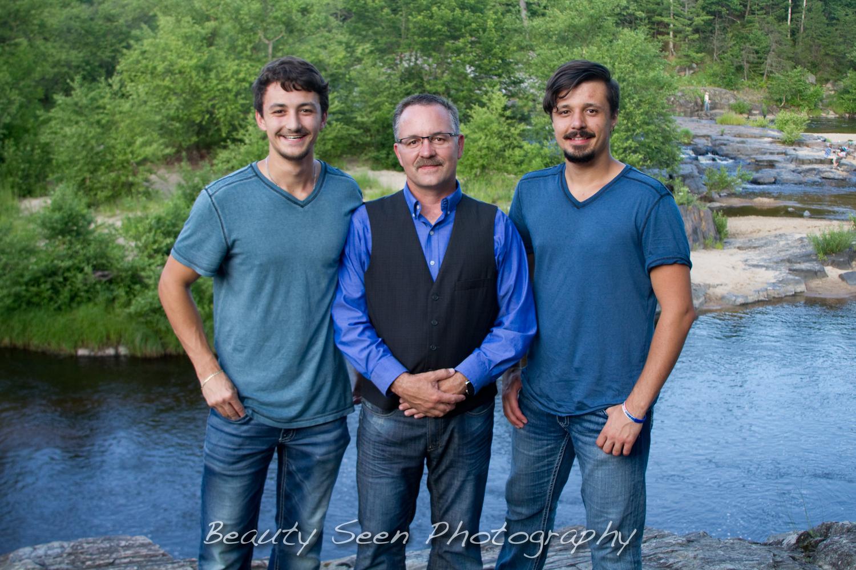 Big Falls Family Session