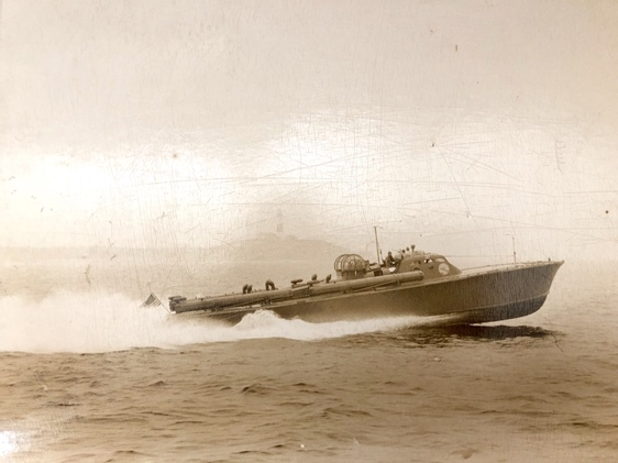 ELCO PT boat based on Scott-Paine design from Walter Rowe; courtesy of Jeff Ridgway