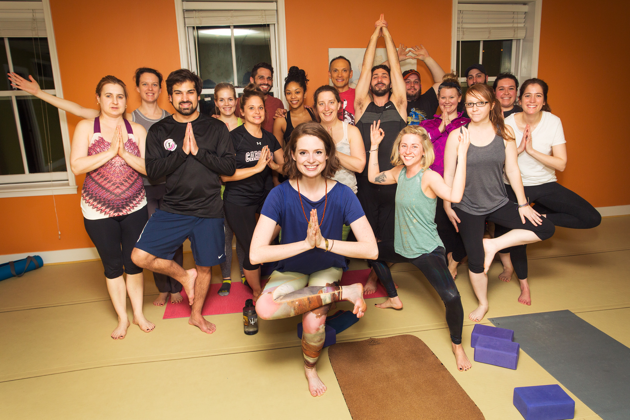 Photo by Graham Snodgrass / taken at YogaWorks Fells Point