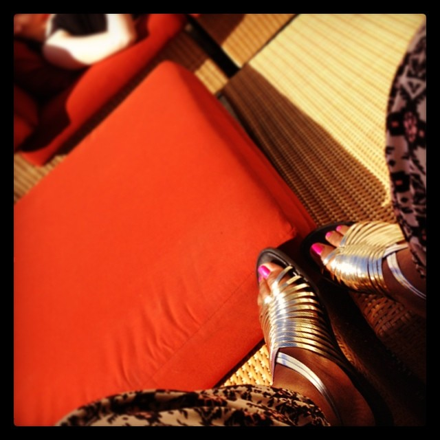Order Now         kholioli :     Absolutely living in these new #metallic #flats! —  http://khafra.co/shop  (at khafra.co/shop)