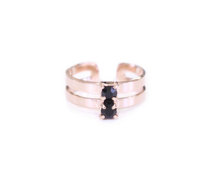 The Black on Rose Midi Candy Jewel Ring .  Shop for it  here .
