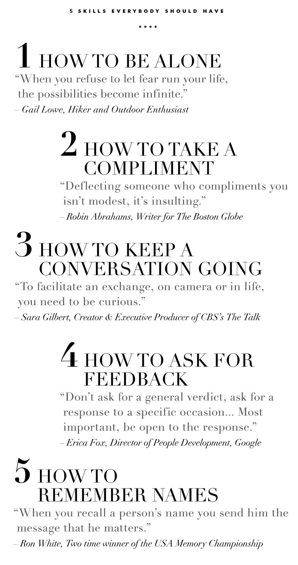 5 skills everybody should have.