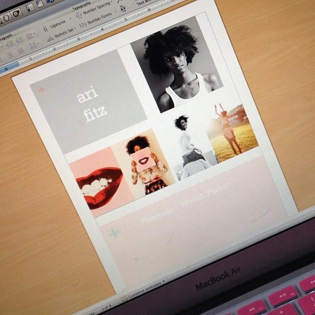Our newest client. This should be … fun. <3    kholioli :     slight #werk | #enmediares | @itsarifitz —> #itsarifitz #makingthebrand #itsallhappening #dreamsarereal