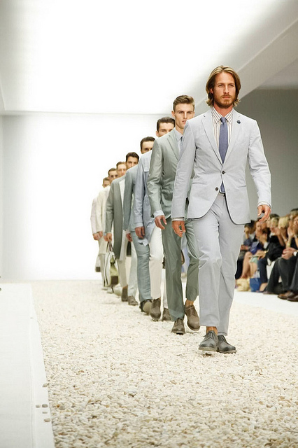 So … We just can't believe Milan Fashion Week Menswear S/S 14 is over. *sigh*   But … in case you missed it, here are some of our fave looks!                       We KNOW you enjoyed that as much as we did!