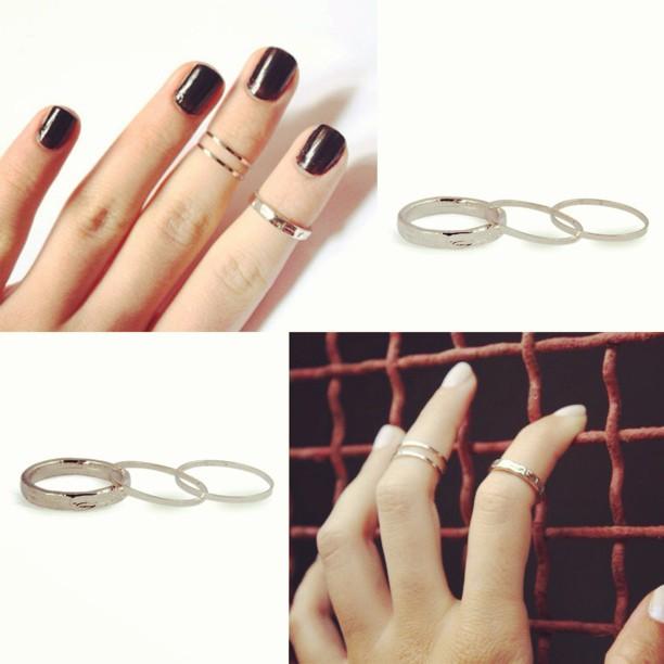 kholioli :     Love this stackable #midirings from @galisfly … How about you? #ringsonringsonrings #accessories #khafraco #galisfly