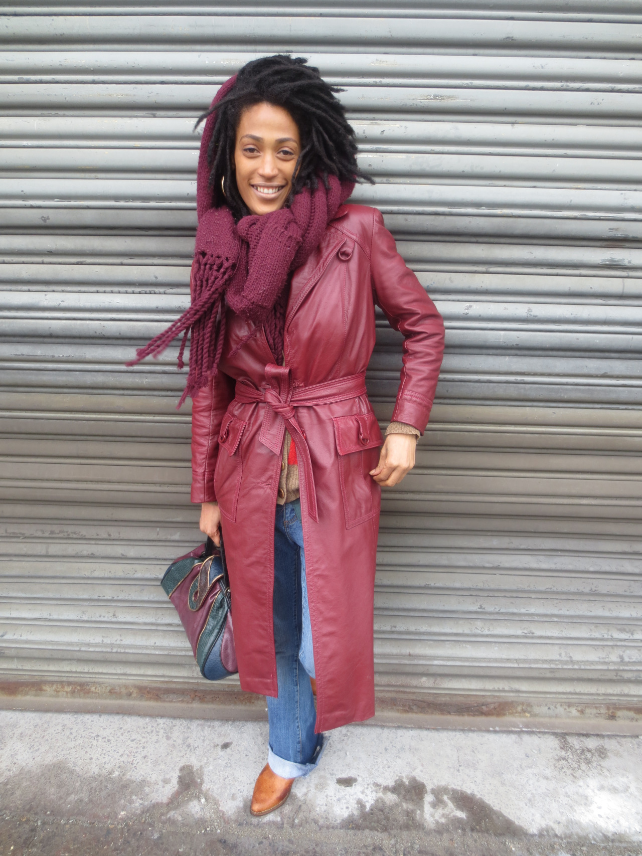 LOVE THIS LOOK!     blackfashion :     Lyfe Silva, Brooklyn, Vintage coat shoes and purse    http://ascension-lyfe.tumblr.com/   @Myelyfe (twitter)