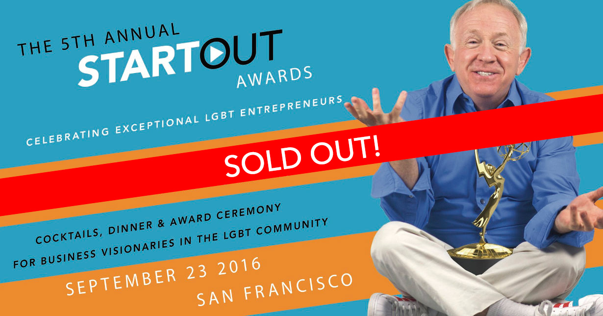 san francisco startout awards st. regis