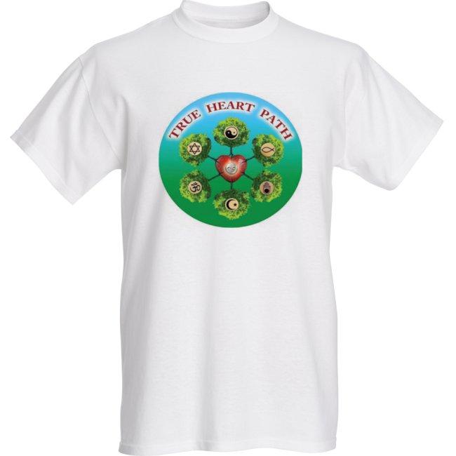 Live YOUR True Heart Path!     T-Shirt $19.99