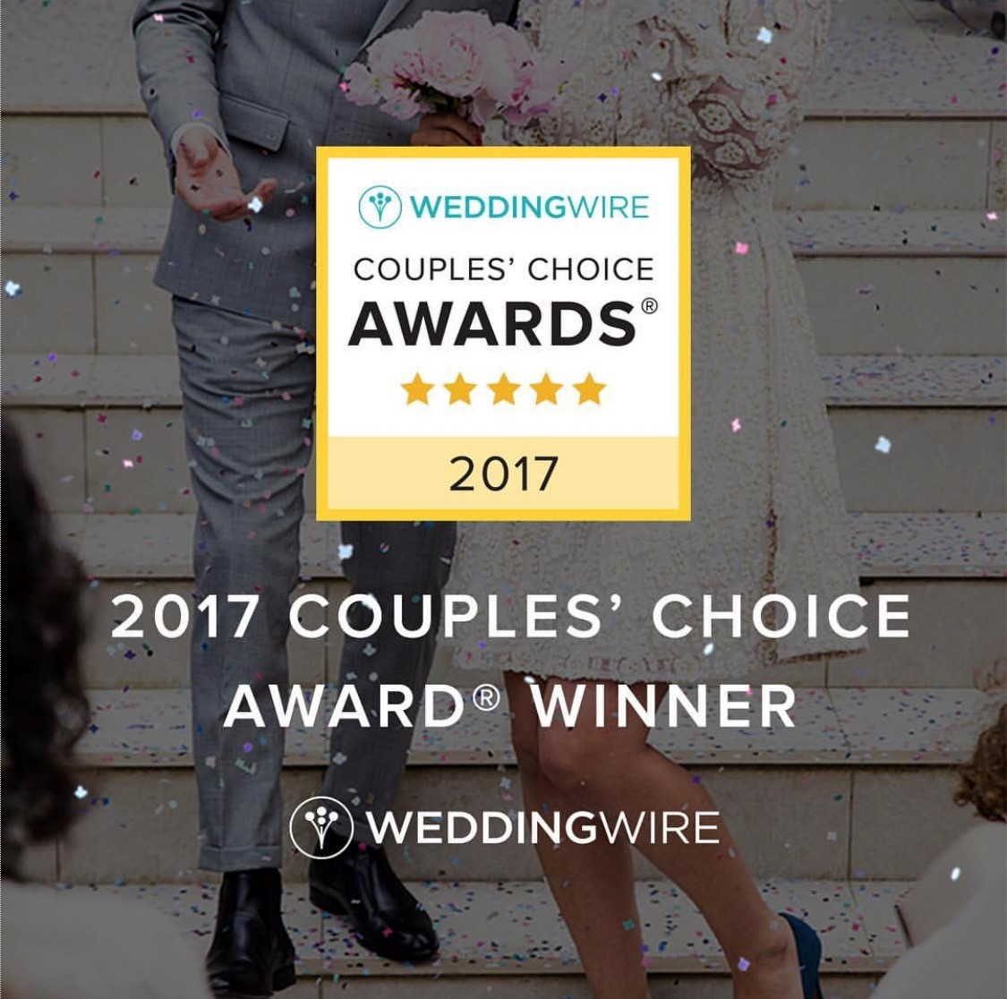 VOWS receives Weddingwire Award