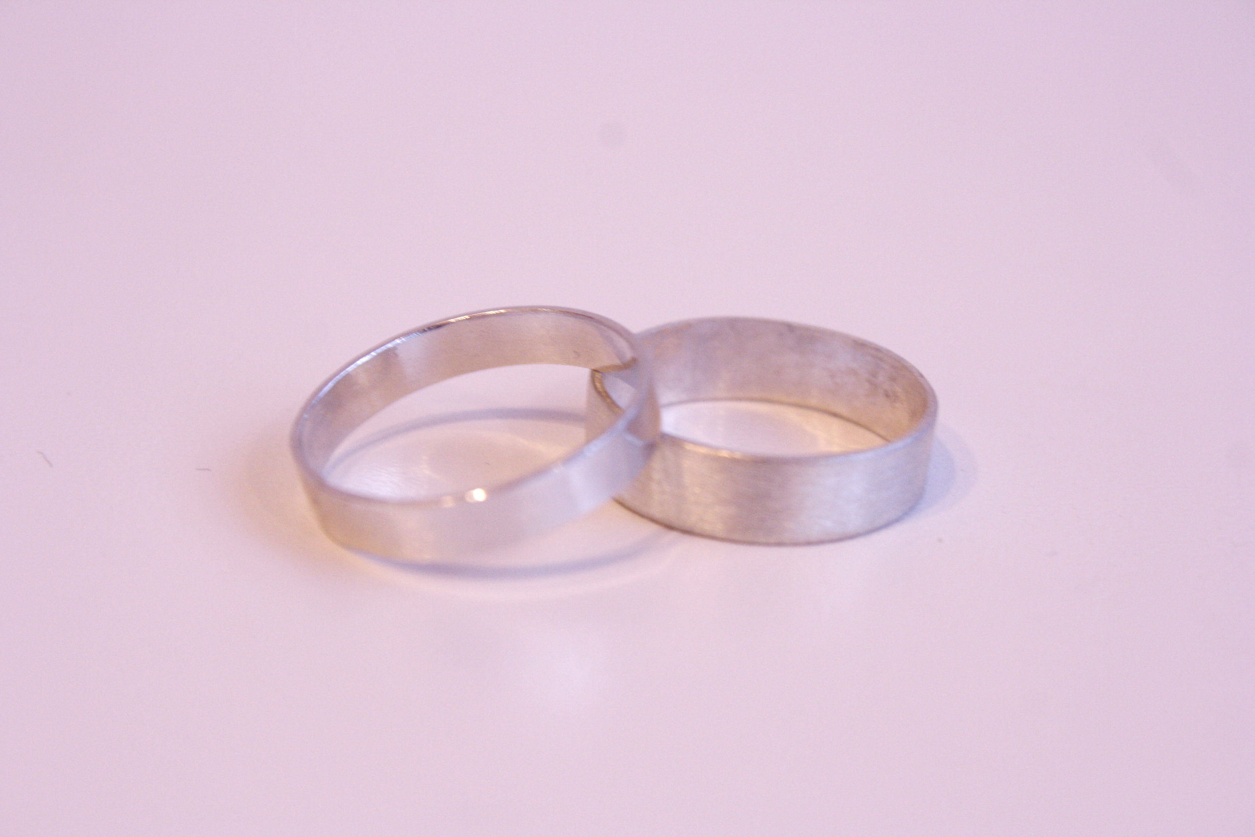 Simple Silver Bands
