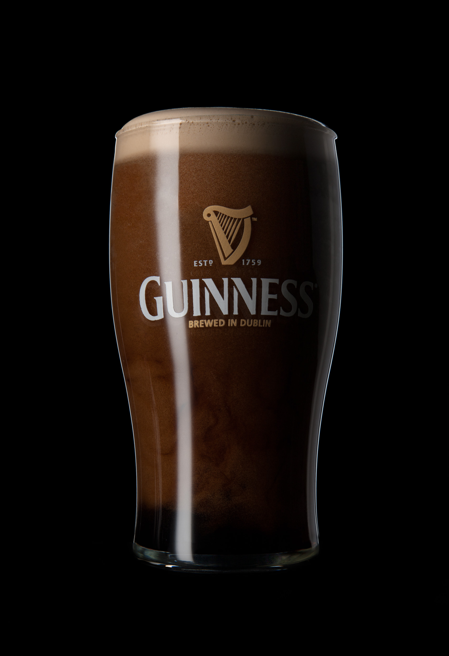 Delicious Guinness surging and settling in its best glassware