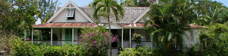 Balenbouche Estate plantation house. See more photos  here .