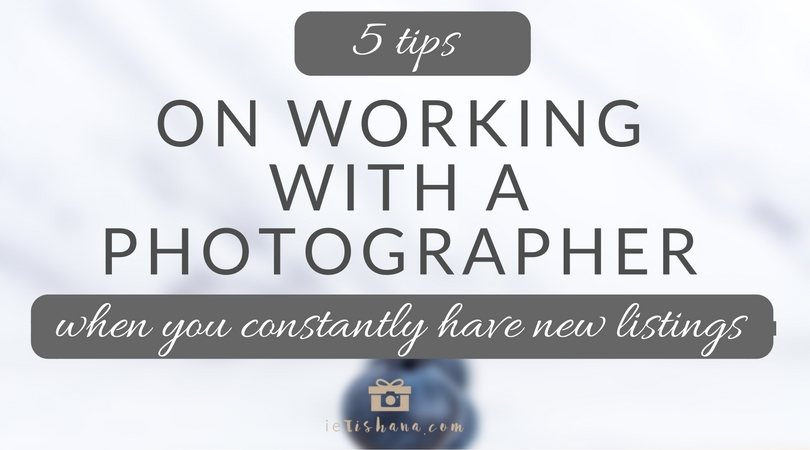 5 tips on working with a product photographer when you constantly have new listings in your online shop | @ietishana