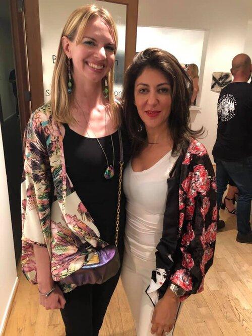Kelly Berg and Haleh Mashian