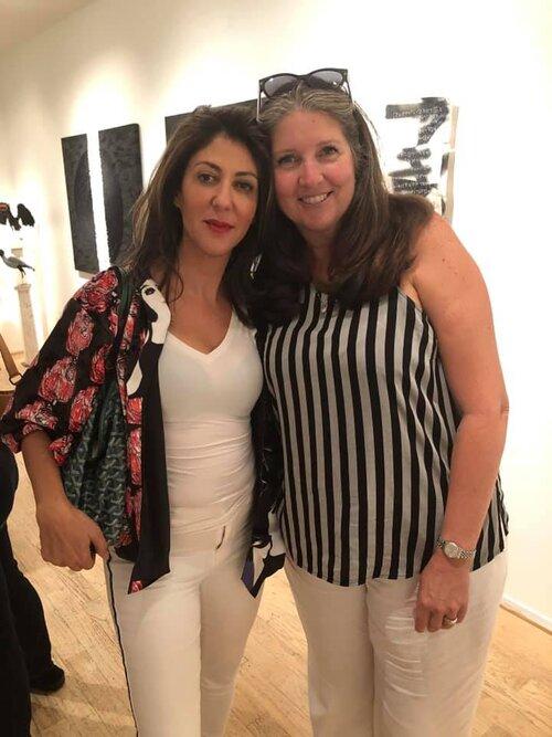Haleh Mashian and Andi Campognone