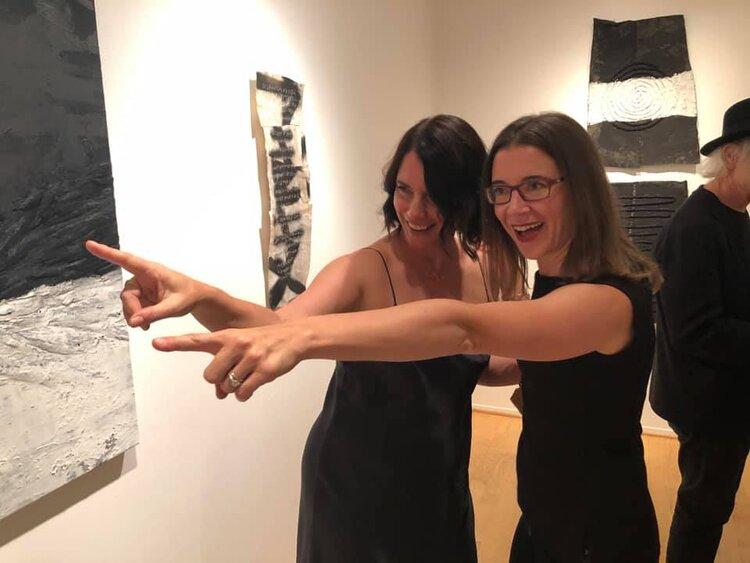 Joy Ray and Christine Ferrouge