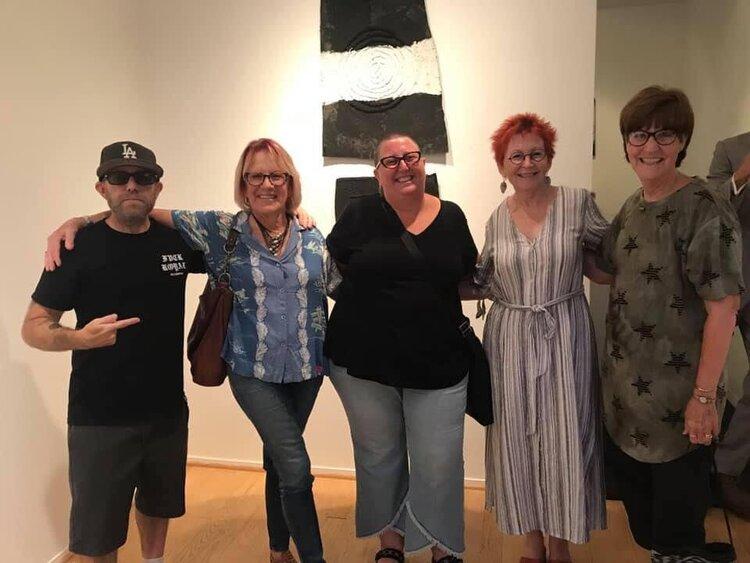 Catherine Ruane, Kristine Schomaker and friends
