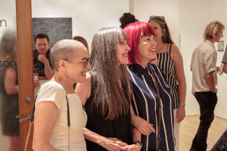 Betzi Stein, Samuelle Richardson and Bibi Davidson