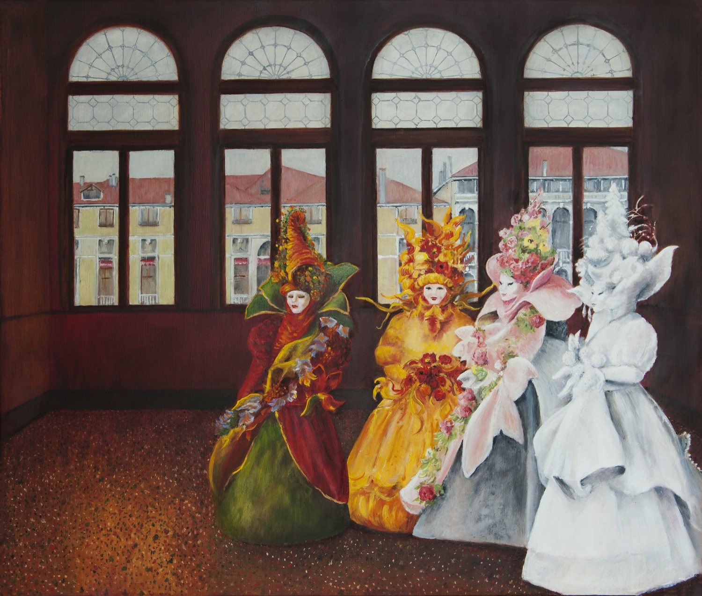 Venice Carnival, 4 Seasons Mask
