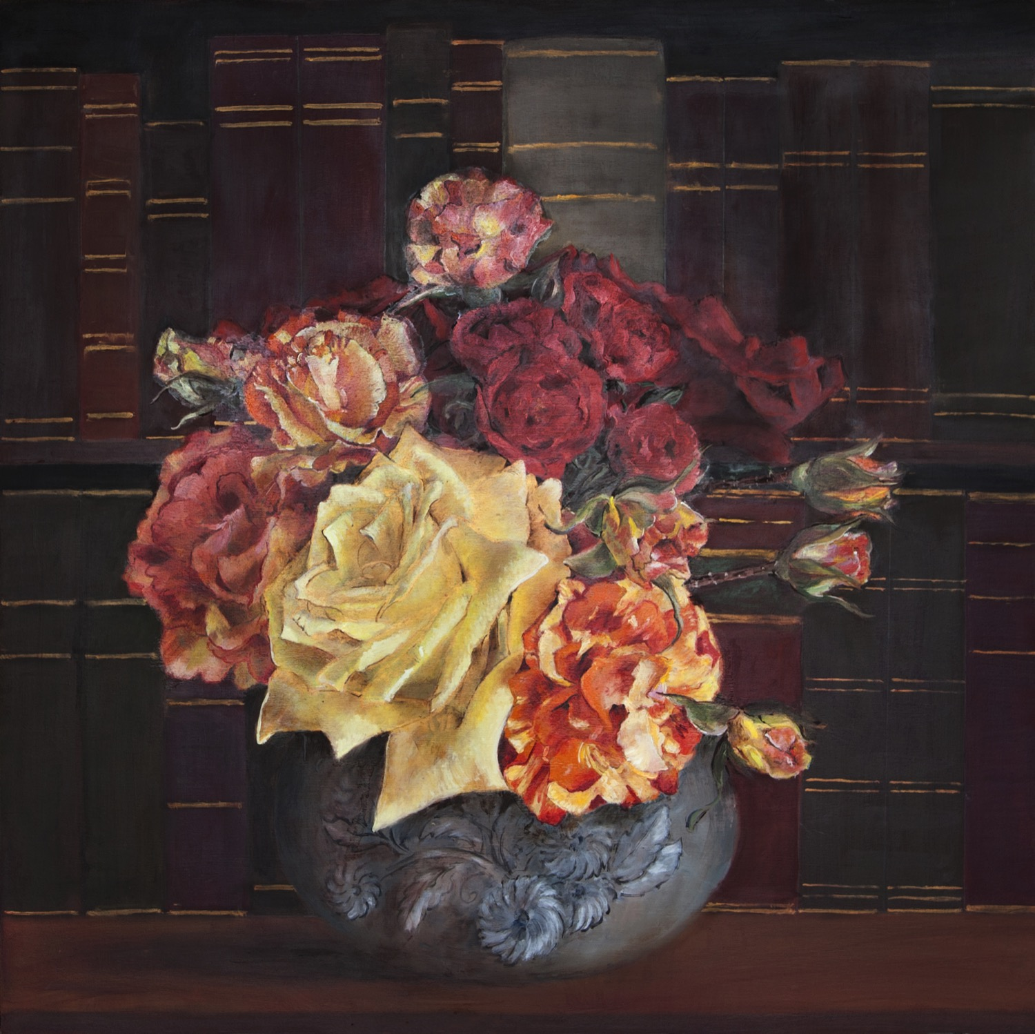 Roses and Library