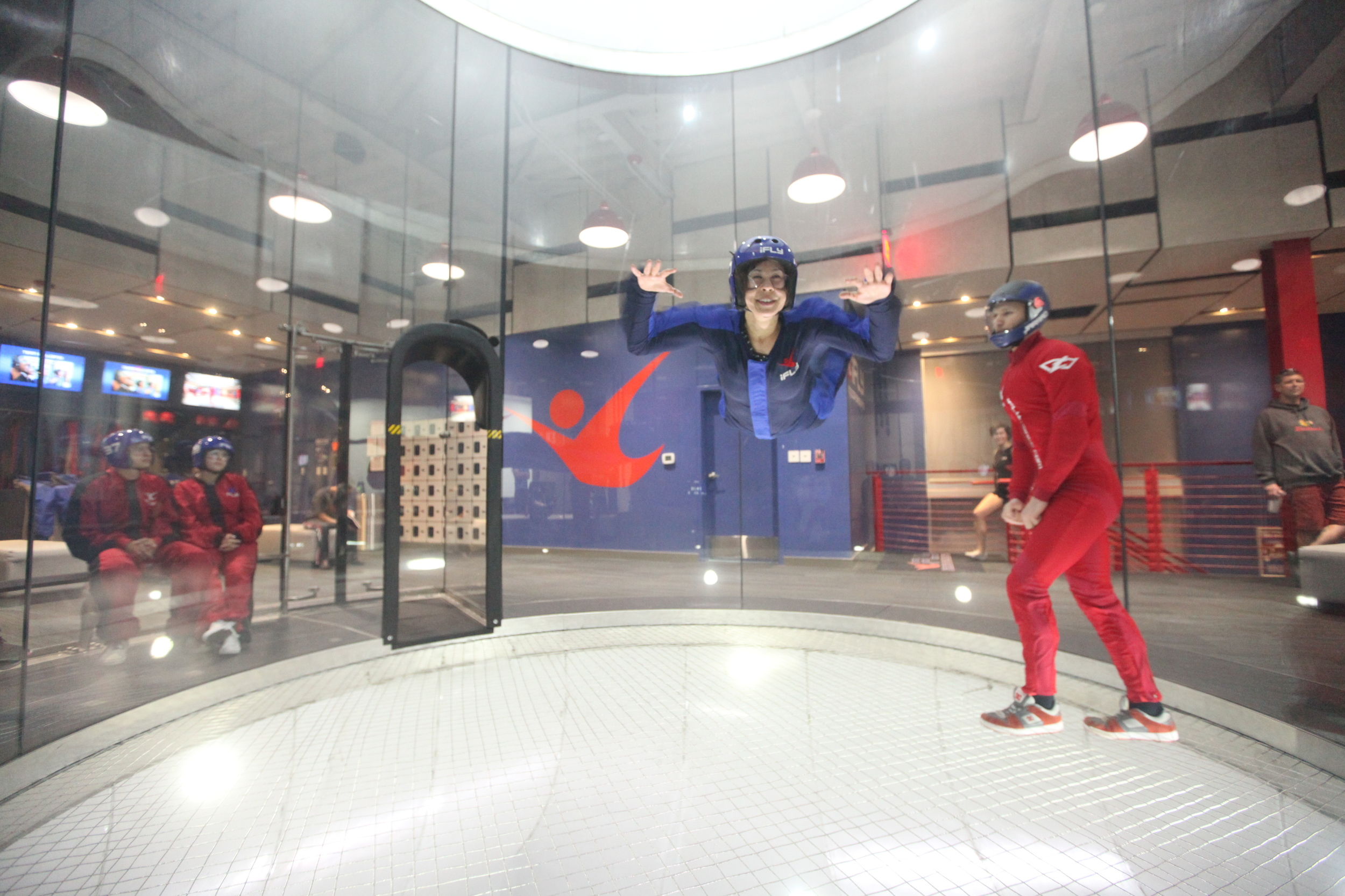 I flew at ifly!