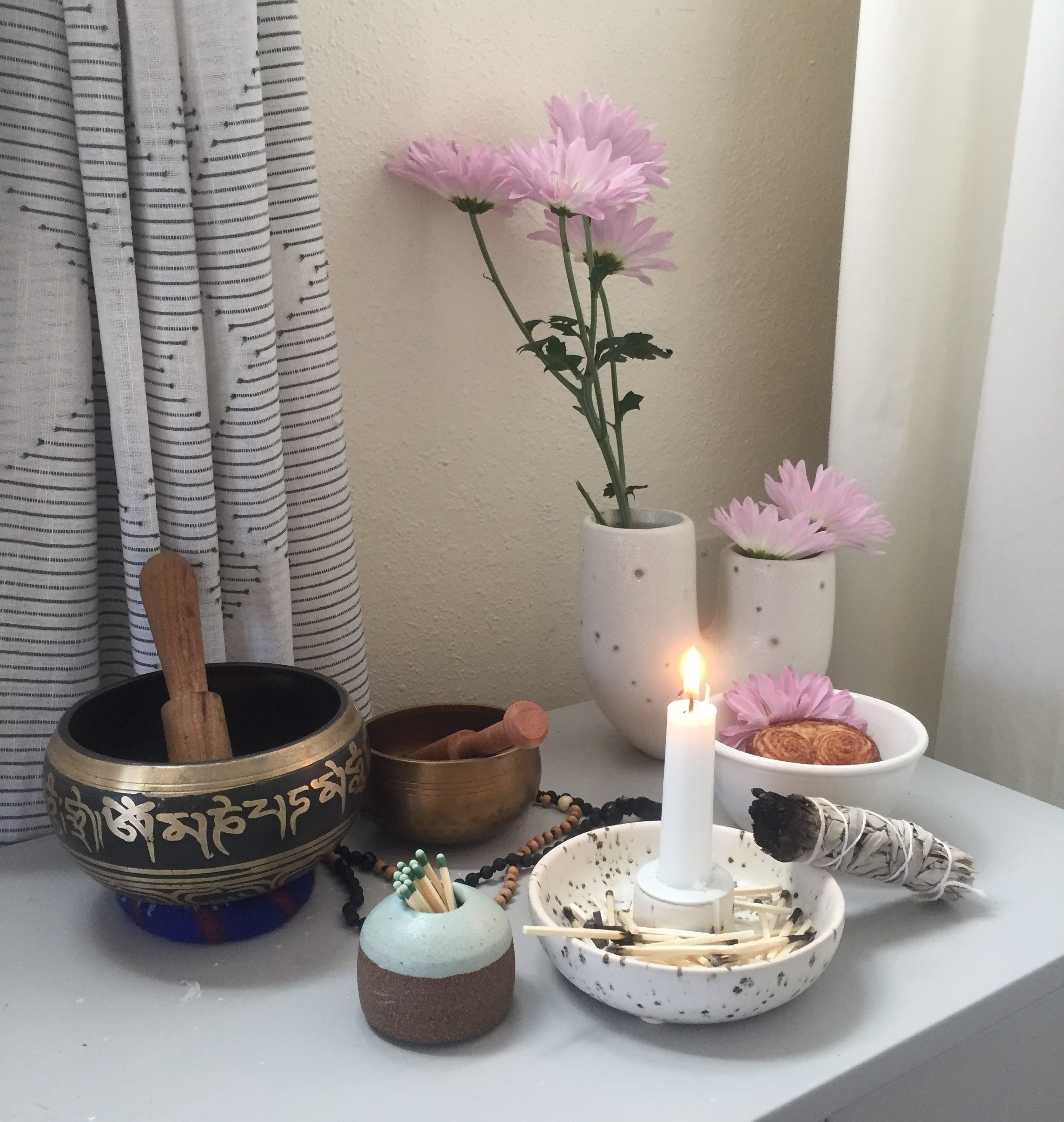 Meditation Alter Now Sparks Joy!