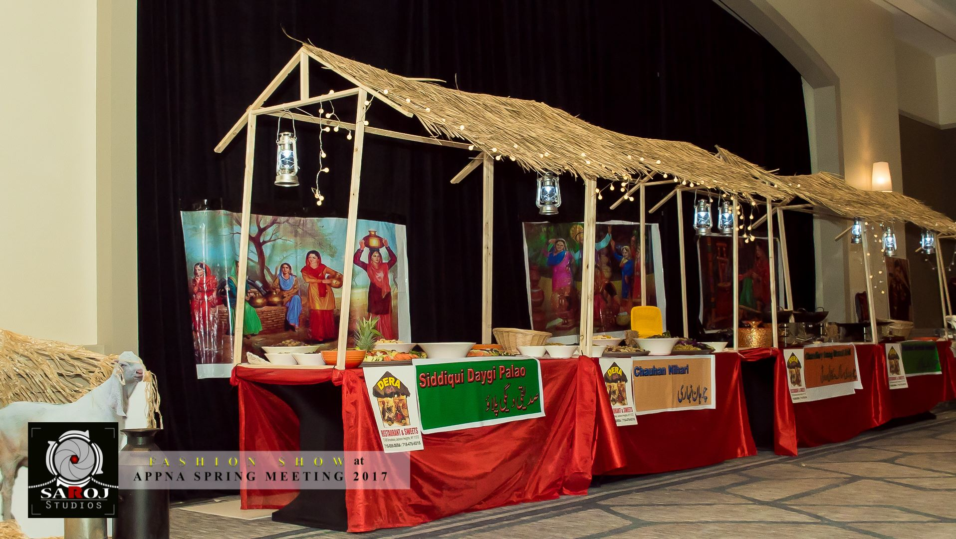 APPNA vendor booths, 2017