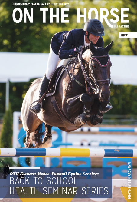 On The Horse, Magazine Cover, 2016