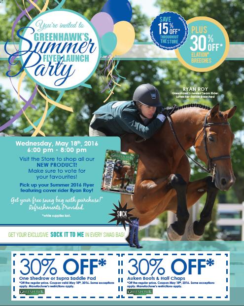 Greenhawk, Magazine Promotion, 2016