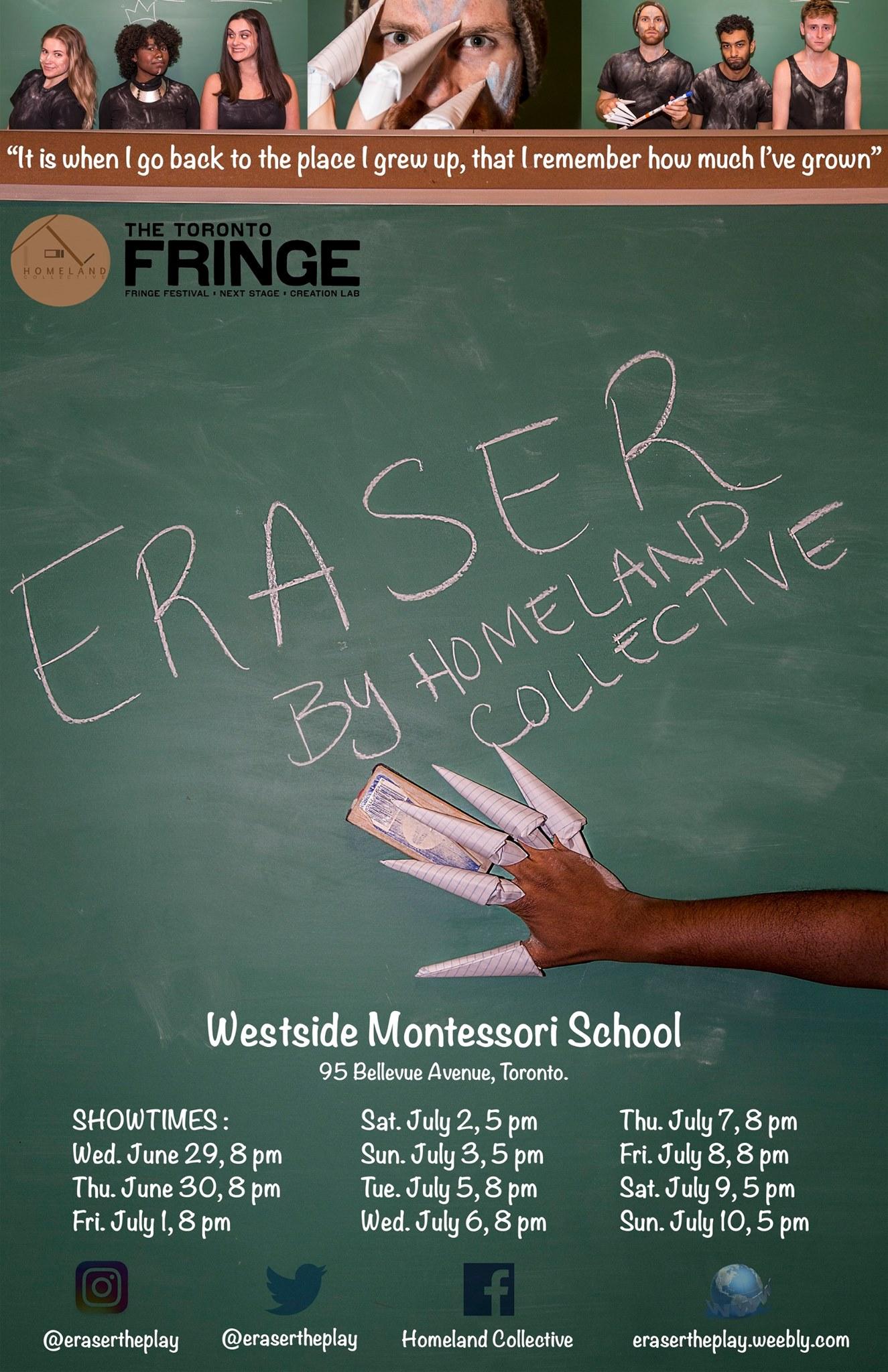 Fringe Toronto, Poster Promotion, 2016