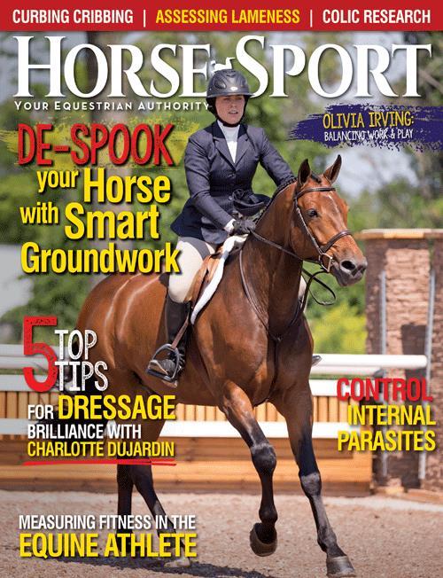 Horse Sport, Magazine Cover, 2017