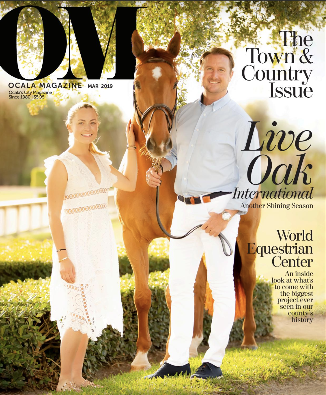 Ocala Magazine, Cover, 2019