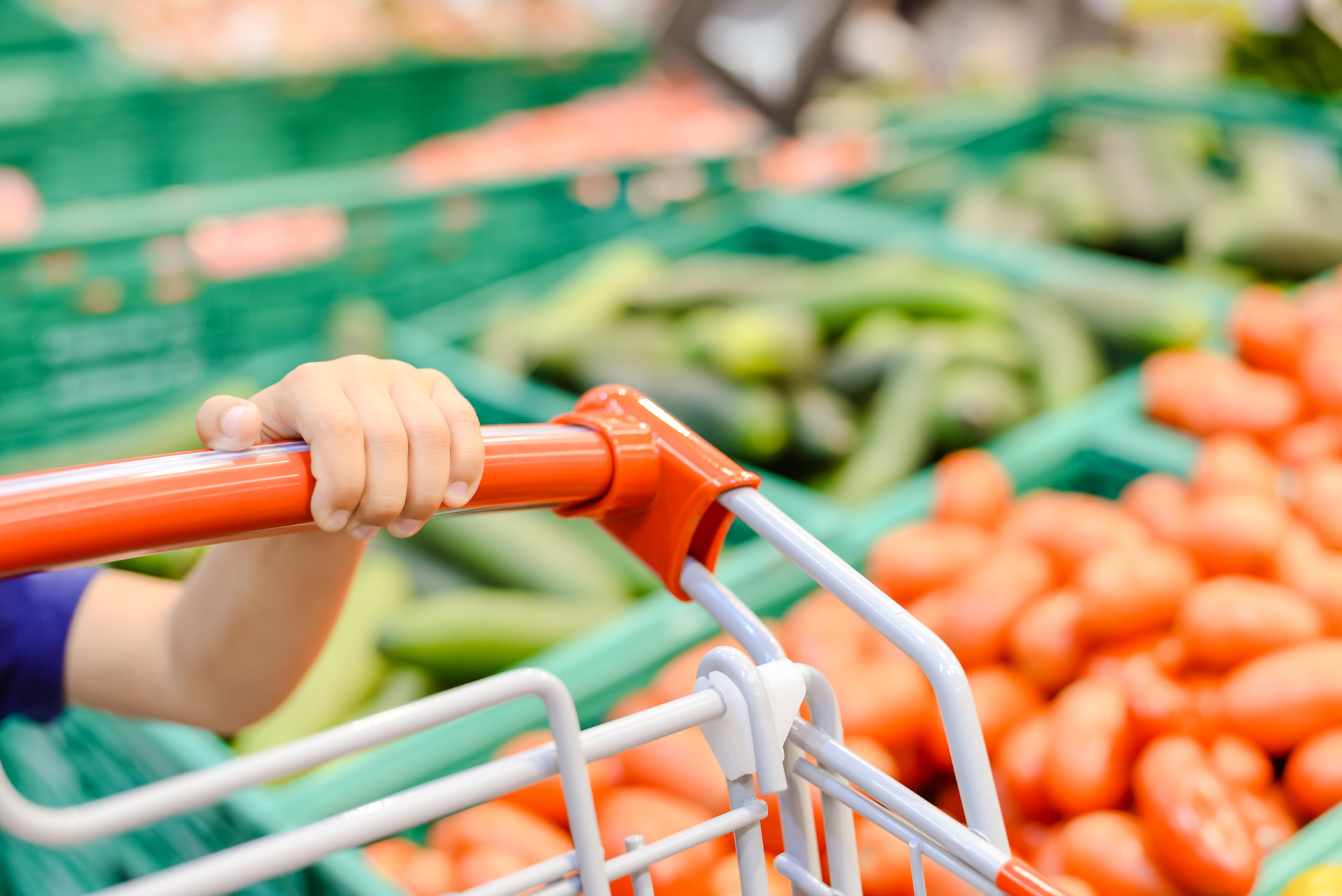 """Fecal matter, salmonella, and staph are found on over 44% of all shopping carts.""   Today Show"