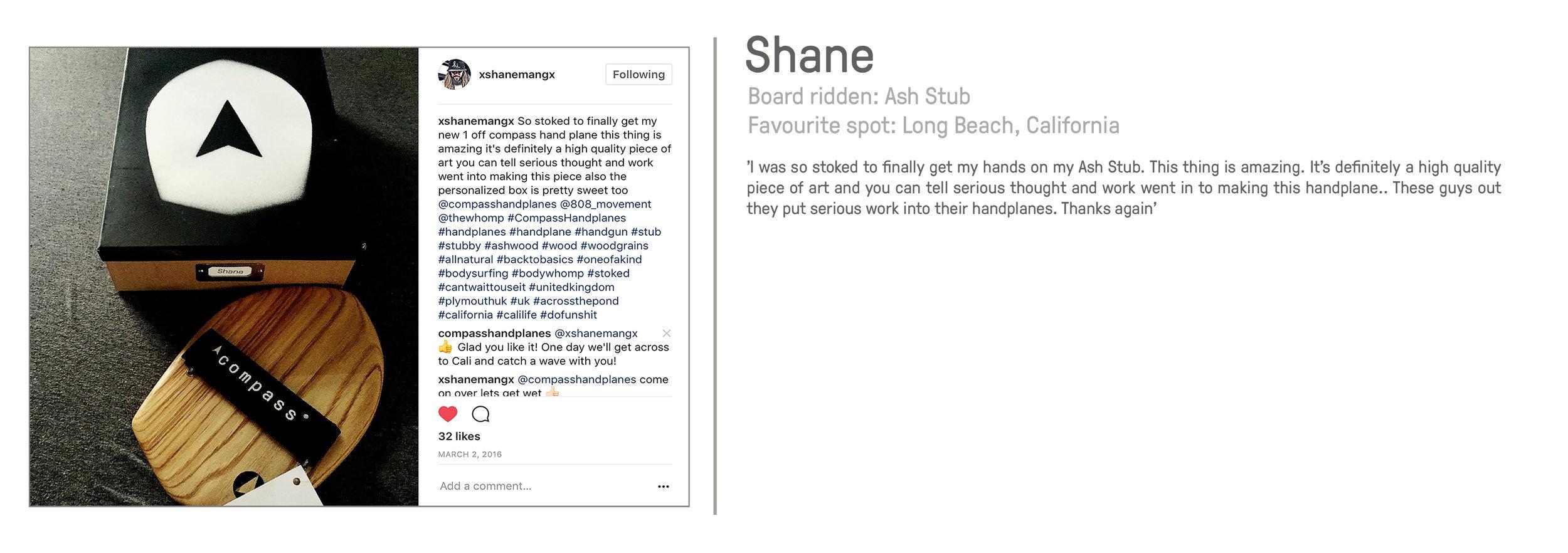 Shane America California bodysurfing bodysurf great review Compass Handplanes handplane