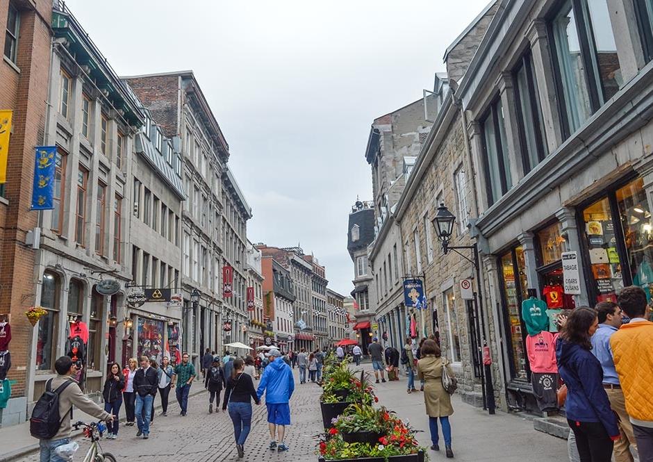 La rue Saint-Paul, en el Vieux-Montréal - Foto: Getty Images