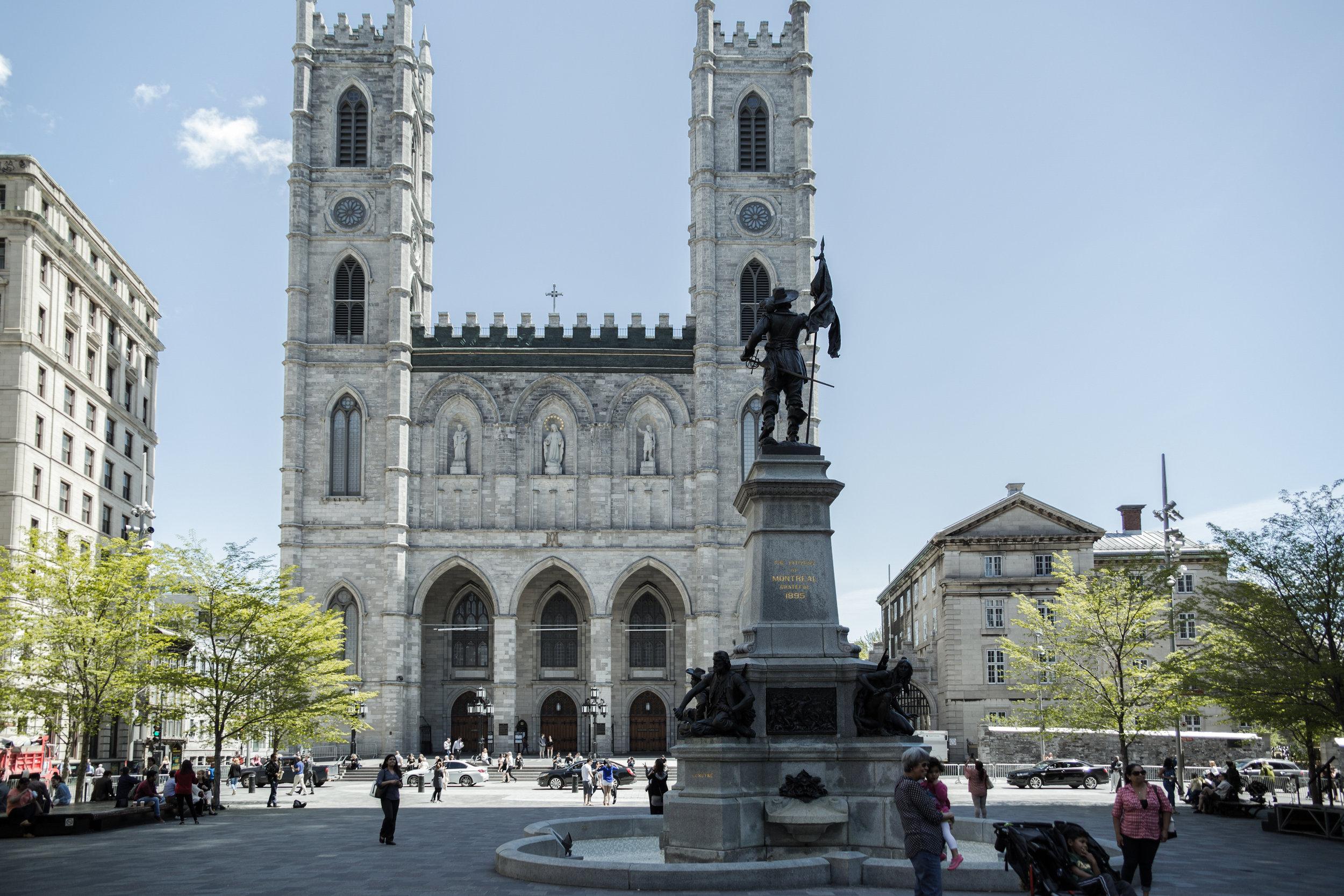 Basílica de Notre Dame de Montréal - Foto: Tourisme Montréal, Marie Deschnen
