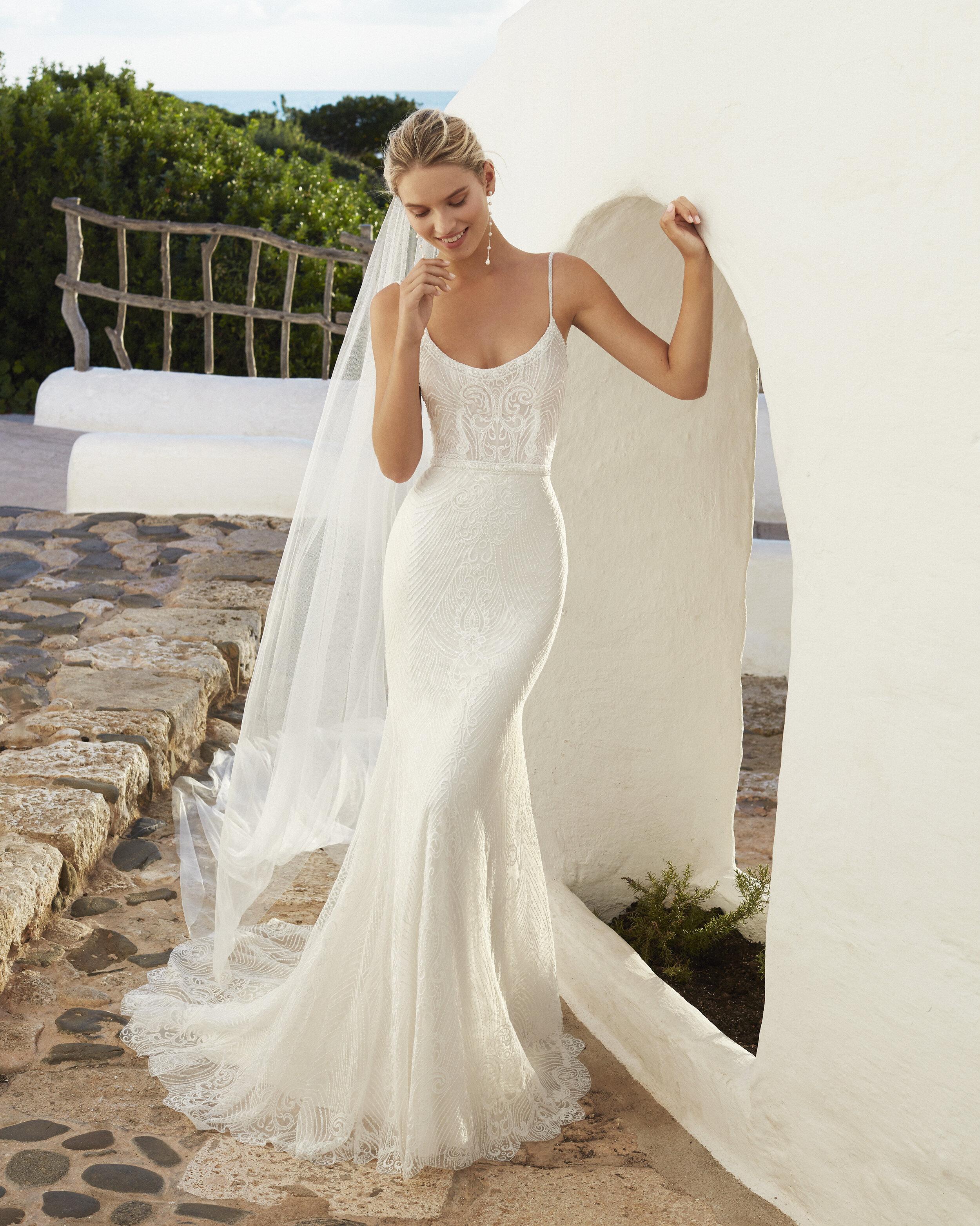 Vestido Quiana - Línea: Aire Beach Wedding / Foto: cortesía Aire Barcelona