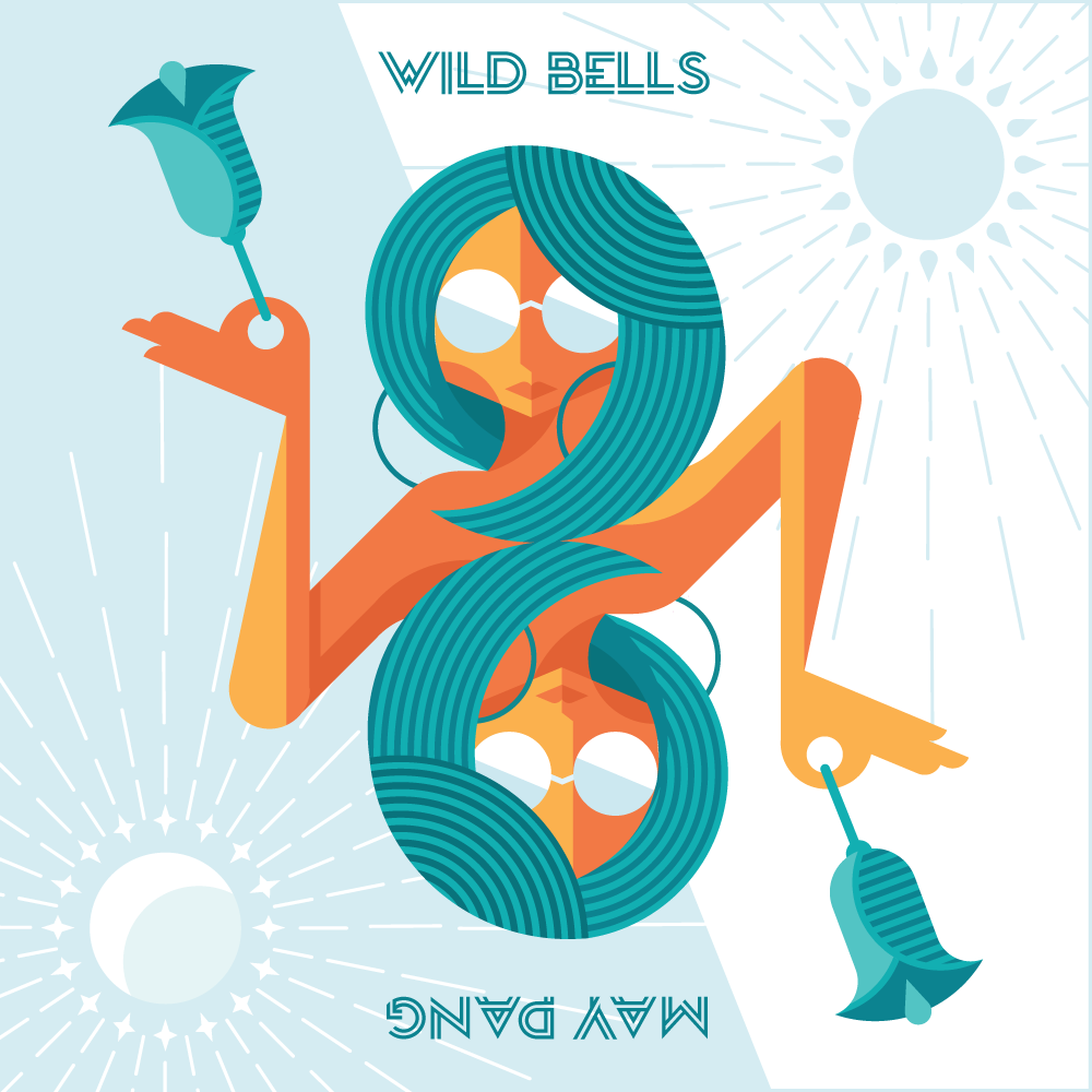 Wild Bells  -  May Pang  EP Self-released, 2015 Producer: Pete Ficht and Daniel Riddle Pete on lead vocals, guitar and songwriting