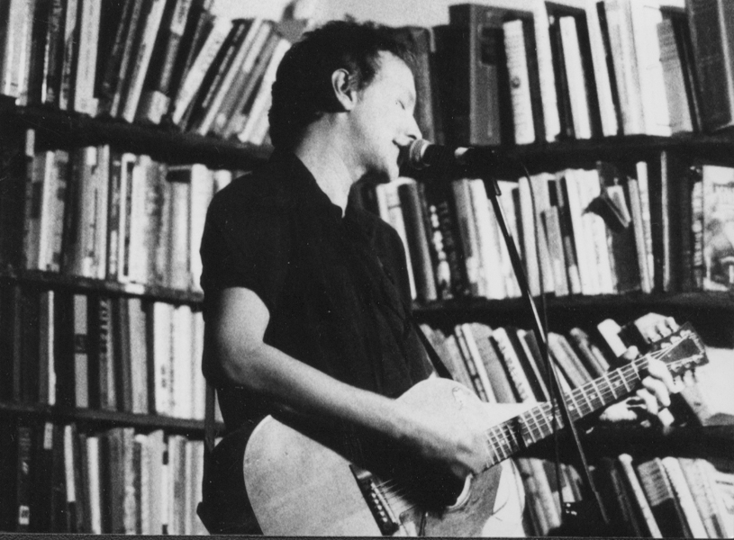 Solo acoustic at the Tugboat, 1998