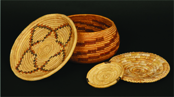 Traditional Weave Basket.