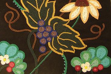 Artwork by  Katrina Mitten (Miami)Indigenous (Detail)