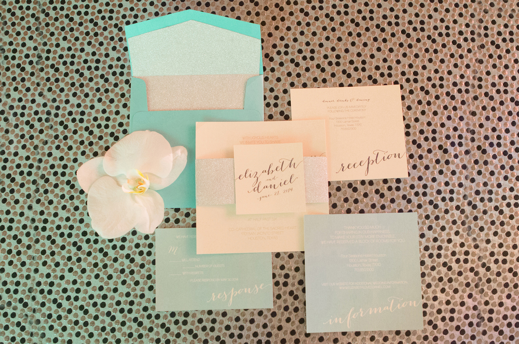 daytoremember.net | Akil Bennett Photography | Wedding Stationery | A Day To Remember Houston Wedding Planning and Design
