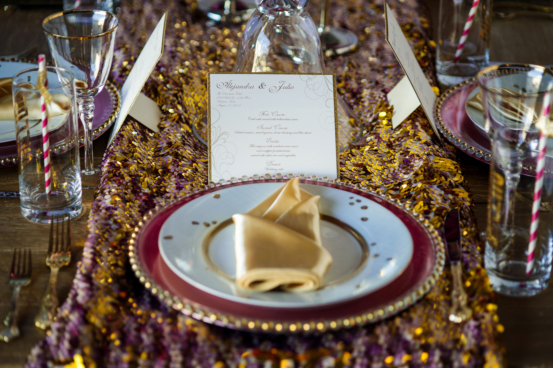 daytoremember.net | Motley Mélange | Wedding Stationery | A Day To Remember Houston Wedding Planning and Design