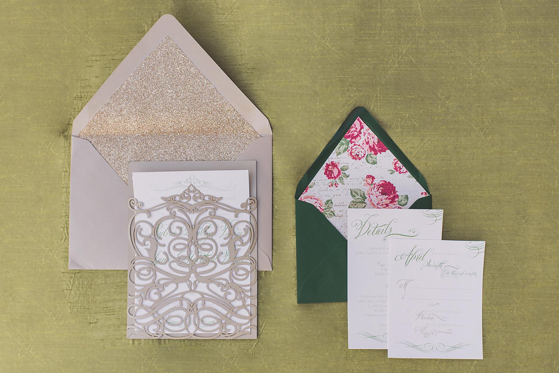daytoremember.net | Lindsay Elizabeth Photography | Wedding Stationery | A Day To Remember Houston Wedding Planning and Design