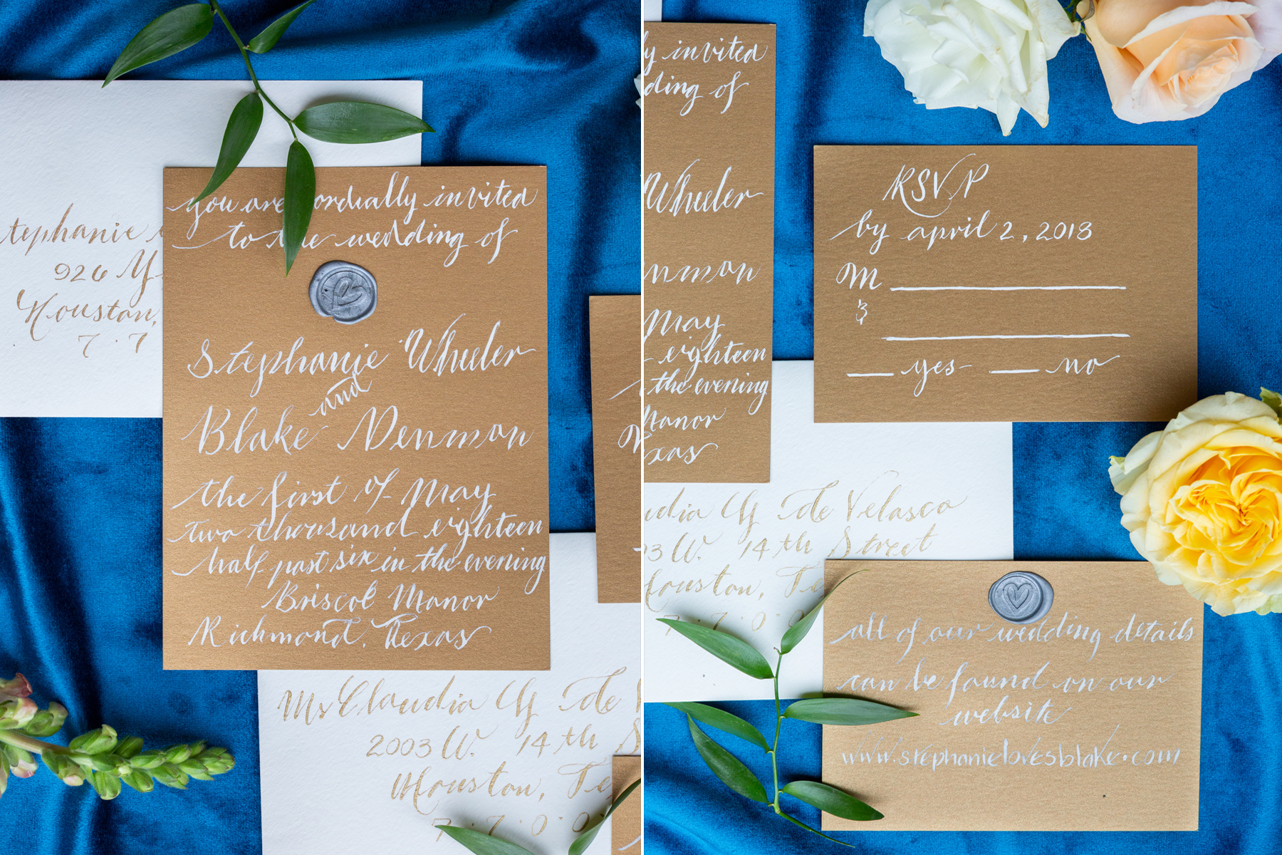 daytoremember.net | Taylor Golden Photography | Wedding Stationery | A Day To Remember Houston Wedding Planning and Design