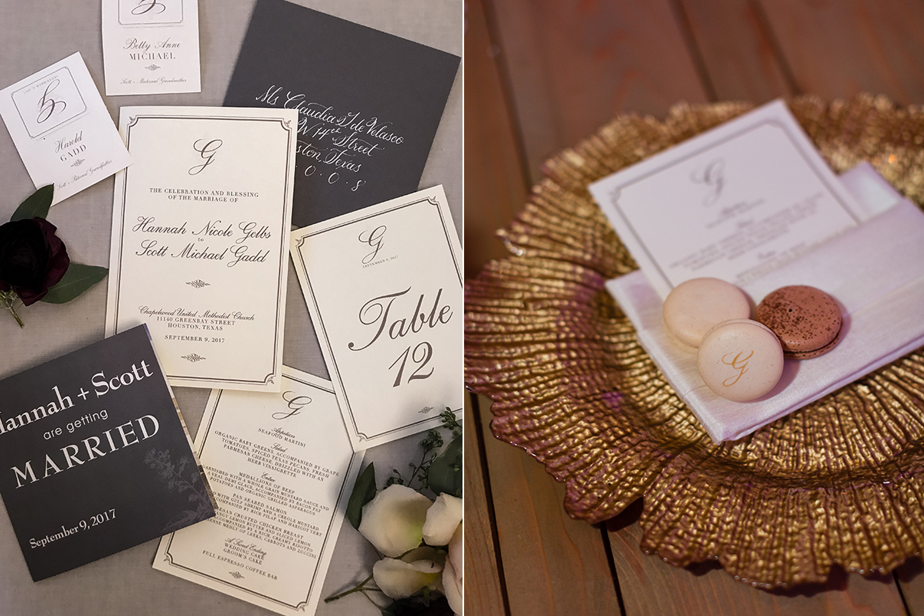 daytoremember.net | Koby Brown Photography | Wedding Stationery | A Day To Remember Houston Wedding Planning and Design