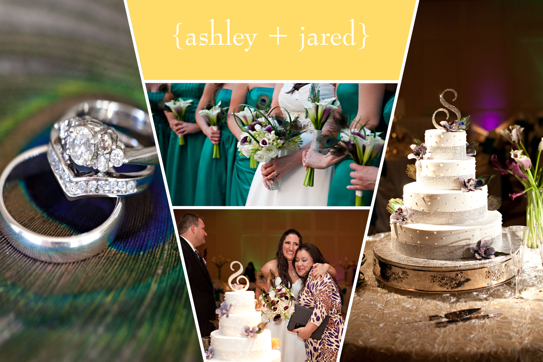 """Claudia is amazing at her job! She made all of my wedding dreams come true (and more). Originally, she was only going to provide bakery services as she is the preferred vendor for our reception venue. However, when my mom and I met with her, we fell in love. She convinced us to use her 'day of' coordinator services which proved to be worth every penny. We also decided to use her as our florist, as well, since it was so convenient to have everything in one place. Then my mom used her stationery services near the end, for the programs and table stationery, etc.  Everything was great! The cakes were gorgeous and tasty. The flowers were absolutely perfect and breath-taking. The stationary was uniquely designed for our wedding theme and colors and they were great! After all the meetings we had, Claudia took our wedding vision and turned it into reality. A perfect reality. It was the best day of my life!  The best thing that Claudia did for me (and, most of all, my mother) was take an enormous weight off our shoulders…not only in the planning process, but more importantly, on the wedding day. Not only was everything perfectly beautiful, but the event ran SO smoothly because of her planning and coordination efforts. If anything went wrong, I have no clue! If it weren't for Claudia, we wouldn't have been able to have such a successful event. That's the truth.  I'd recommend her to anyone of my friends or family members planning a wedding. She's got great connections in the industry, she's knowledgeable and she's such a pleasure to work with.""  —  Ashley and Jared, The Conrad Hilton Hotel"
