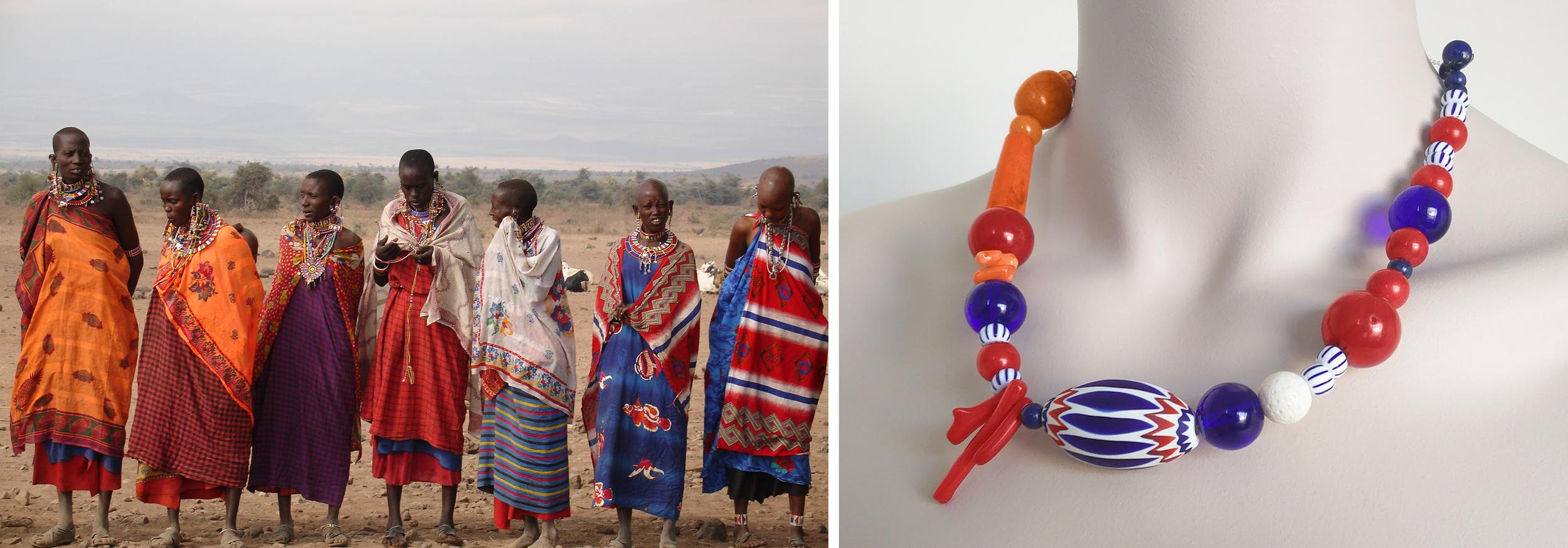 Masaai Neckalce